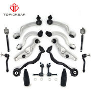 New 16pc Front Lower Upper Control Arm Ball Joint Tie Rod Kit Fit 07-17 Ls460