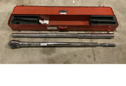 Large 70 Wright Tool 8447 1 Drive Torque Wrench Ratchet 200 - 1,000 Ft Lbs.