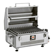 Solaire Anywhere Portable Infrared Grill With Warming Rack, Propane
