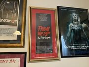 Friday The 13th - The Final Chapter - Us Movie Original Poster Insert - Framed