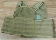 Paraclete Msa Coyote Brown Sohpc-el Extra Large Plate Carrier Usmc Sof Cag R12a