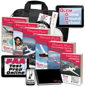 Gleim Deluxe Private Pilot Kit W/ Audio Review And Online Ground School