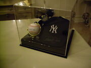 Derek Jeter Autographed Ball And Hat Signed World Series Ring Bennie Baby
