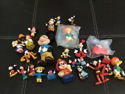Huge Vintage Disney Toy Lot, Mickey Mouse, Donald Duck. Cars, Goofy Japan