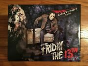 Mib Gentle Giant Jason Voorhees Statue Figure Le 110/350 Friday The 13th