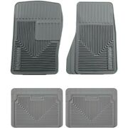 Set-h2151072 Husky Liners Floor Mats Front New Gray For Chevy Olds S10 Pickup