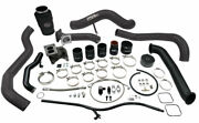 Wc Fab S300 Single Turbo Install Kit For 01-04 Duramax Lb7 Illusion Lite Blue