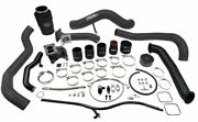Wc Fab S300 Single Turbo Install Kit For 01-04 Duramax Lb7 Hybrid Blu