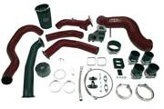 Wc Fab S400 Single Turbo Install Kit For 04.5-05 Duramax Lly Wcfab Red