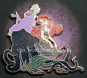 New Disney D23 Designer Fairytale Heroes And Villains Ariel And Ursula Pin Le 1000