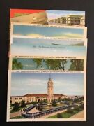 Vintage San Diego Military Camp/stations Post Cards Unused Lot Of 6. Mint