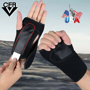Pair Of Wrist Hand Palm Splint Brace Support Carpal Tunnel Syndrome Strains Us