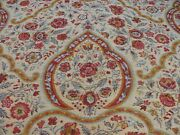 12.25y Scalamandre Calantha- Gold/red Blue Flower Wool Tapestry Msrp296/y