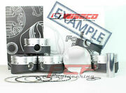 Wiseco Forged Piston Kit Cr 9.6 For Toyota Supra 3.0 2jzgte Pn K677