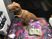 Wow Wee Wowwee Intl 1999 Silicone Dinosaur Rc Remote Control Toy - Working