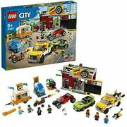 Lego 60258 City Tuning Workshop With Hot Rod