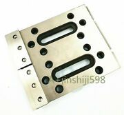 Wire Edm Fixture Board Stainless Jig Tool For Clamping And Level 120x100x15mm