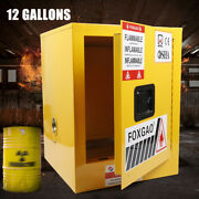 Flammable Safety Cabinet 12 Gal. Isolation Box Lab Storage Bins Cabinets