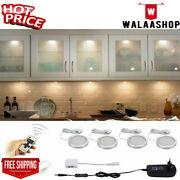 Aiboo Led Under Cabinet Light Kitchen Puck Under Counter Lights With Wireless Rf