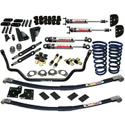 Ride Tech Street Grip Front And Rear Suspension Kit For 67 68 69 70 Mustang