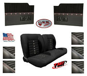 Sport Xr 55 Bench Seat And Flat Door Panels W/ Pockets For 1953-55 Ford Truck