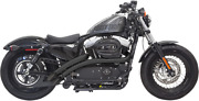Bassani Radial Sweepers Exhaust System For 2014-2019 Harley Davidson 883 1200 Xl