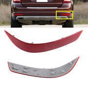 Reflector Red Rear Bumper Right Side Fit For Mercedes-benz Gl350 Gl450 Gl550 New