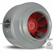 New 12and039and039 V-series In-line Duct Fan 2050 Cfm W/vari-speed Speed Control Kit