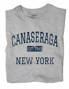 Canaseraga New York Ny T-shirt Est
