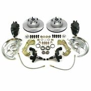 Gm Front Disc Brake Conversion Kit Spindle Height Brakes Camaro Chevelle
