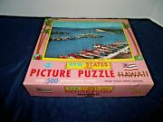 Vintage Built-rite 500 Piece Jigsaw Puzzle New State Series Hawaii