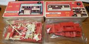 Plasticville King Distributing 500 And 0550 Apartment/add Floor Red Sealed Parts
