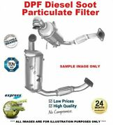Cat And Sic Dpf Soot Particulate Filter For Ford Fiesta Vi 1.4 Tdci 2010-on