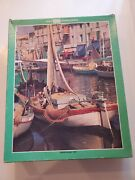 Whitman Guild 1000 Piece Jigsaw Puzzle 4710-1 Fishing Village, Italy Series 1
