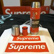 Fw19 Supreme Stanley 20 Oz. Vacuum Insulated Bottle Red Classic Water Bottle