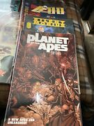 5 Us Comic Books. Fables Interzone Silent Mobiusa1 And Planet Of The Apes. Vg