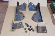 1974 - 1978 Ford Mustang Ii Cobra Ii Fold-down Rear Seat Hinges Brackets Latches