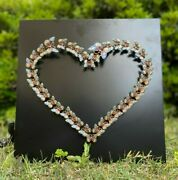 Love Butterfly Heart And Crystal Hand Made By Keren Kopal Edition 1/1