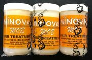 {pack Of 3} Minoval Mob Hair Treatment Castor Oil 5.07 Oz 150ml Free Shipping