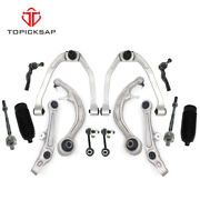 14 Pc Complete Suspension Kit For Infiniti G35 Nissan 350z Control Arms Tie Rods