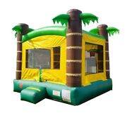 Tropical - Pogo Kids - Premium Inflatable Bounce House Jumper With Free Blower