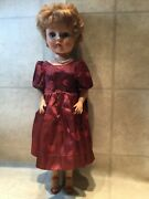 """Antique Vtg 21"""" High Heel Fashion Doll 50's Deluxe Reading Grocery Store"""