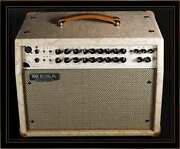 Mesa Boogie Rosette 300 Acoustic Combo In Champagne Floral With Cream And Black
