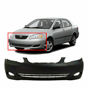 Front Bumper Cover For 2005-2008 Toyota Corolla To1000297 521190z938