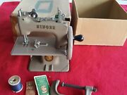 Vintage Singer Mini Sewing Machine Hand Crank Childand039s Miniature With C Clamp