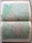 1954 Russian Book Atlas Ussr Maps Ussr Richly Illustrated Edition Vintage