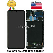 For Samsung Galaxy A70 Sm-a705fn A705mn A7050 Lcd Screen Touch+frame Usps