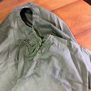 Vtg Sleeping Bag Cover Bivy Us Military Nos 1944 Wwii Usa Water Repellent A