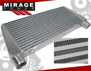 Tube And Fin 29x11x2.5 Top Inlet/exit Front Mount Tmic Intercooler For Honda
