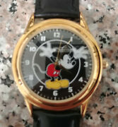 Fossil Relic Li-2014 Mans 34mm Mickey Mouse Character Watch Lot Mib